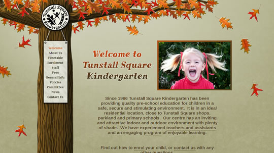 tunstall square kinder home page